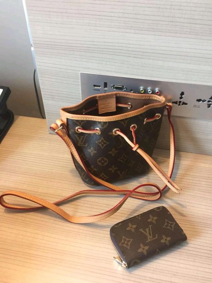 d03fb970ce92 Louis Vuitton Bag Nano Noe Mono Canvas