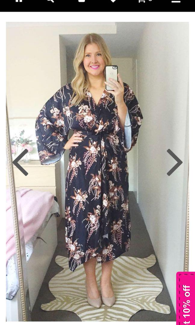 maxi dress size 12 brand new