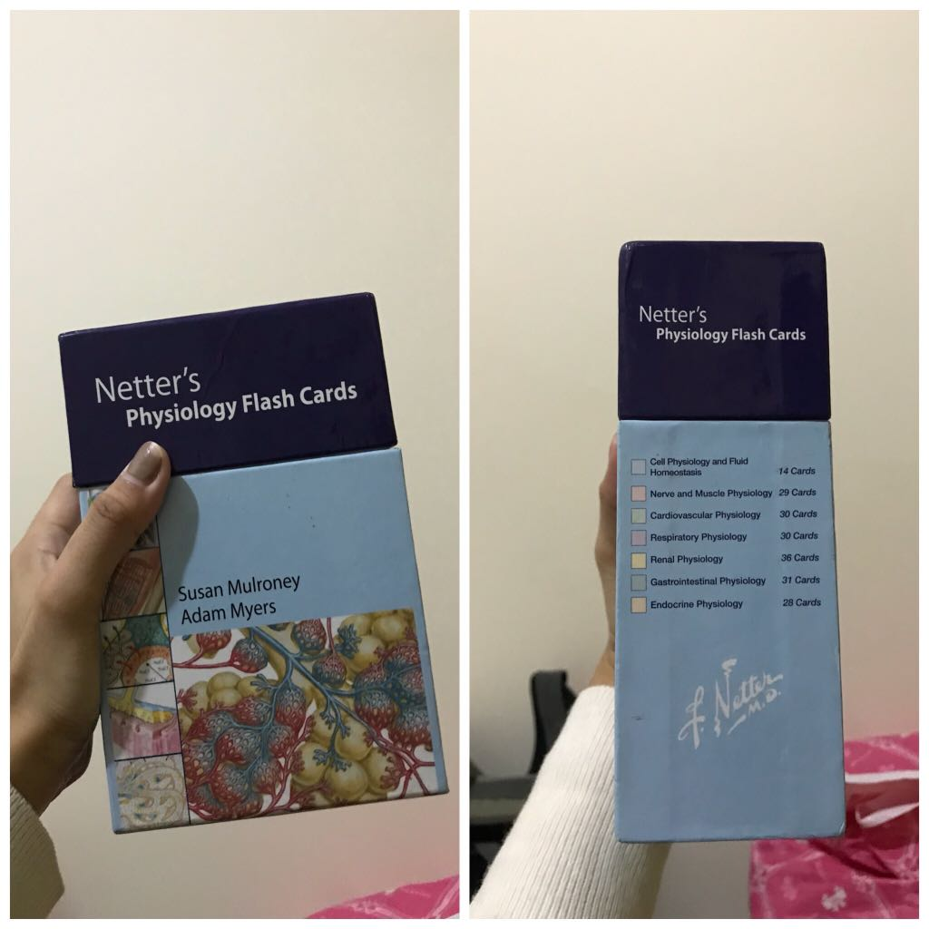 Netter Physiology Flashcards Textbooks On Carousell