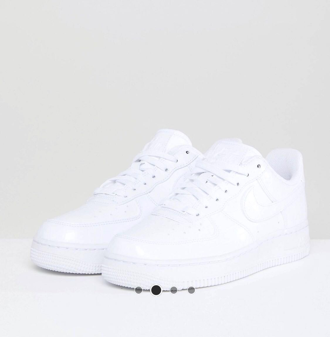 994828578b00f Nike Air Force 1 Trainers In White Snakeskin, Women's Fashion, Shoes ...
