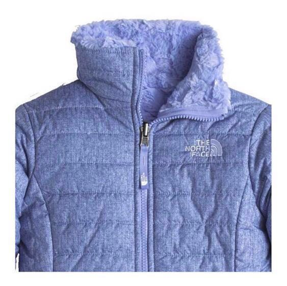 726fbeb83 North Face Girls Reversible Mossbud Swirl Insulated Winter Jacket ...