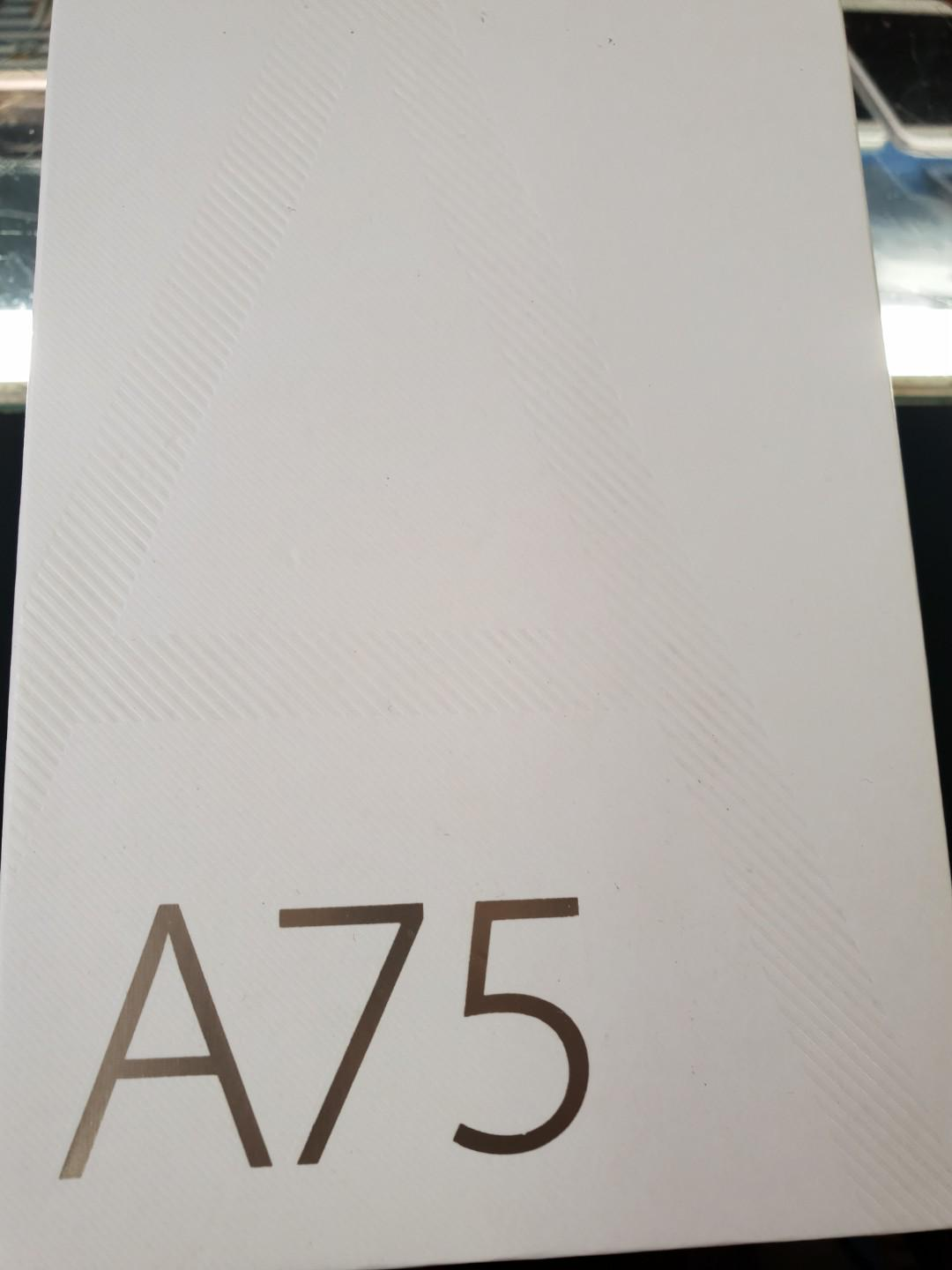 Oppo A75 Gold
