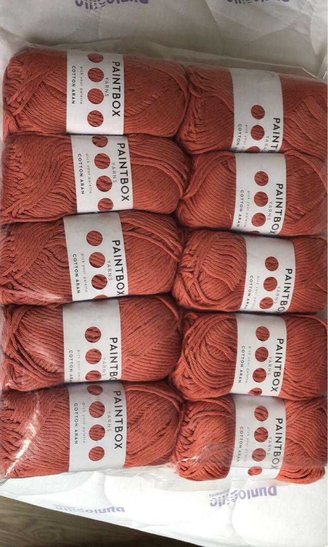 Paintbox cotton Aran in vintage pink pack of 10s, Design