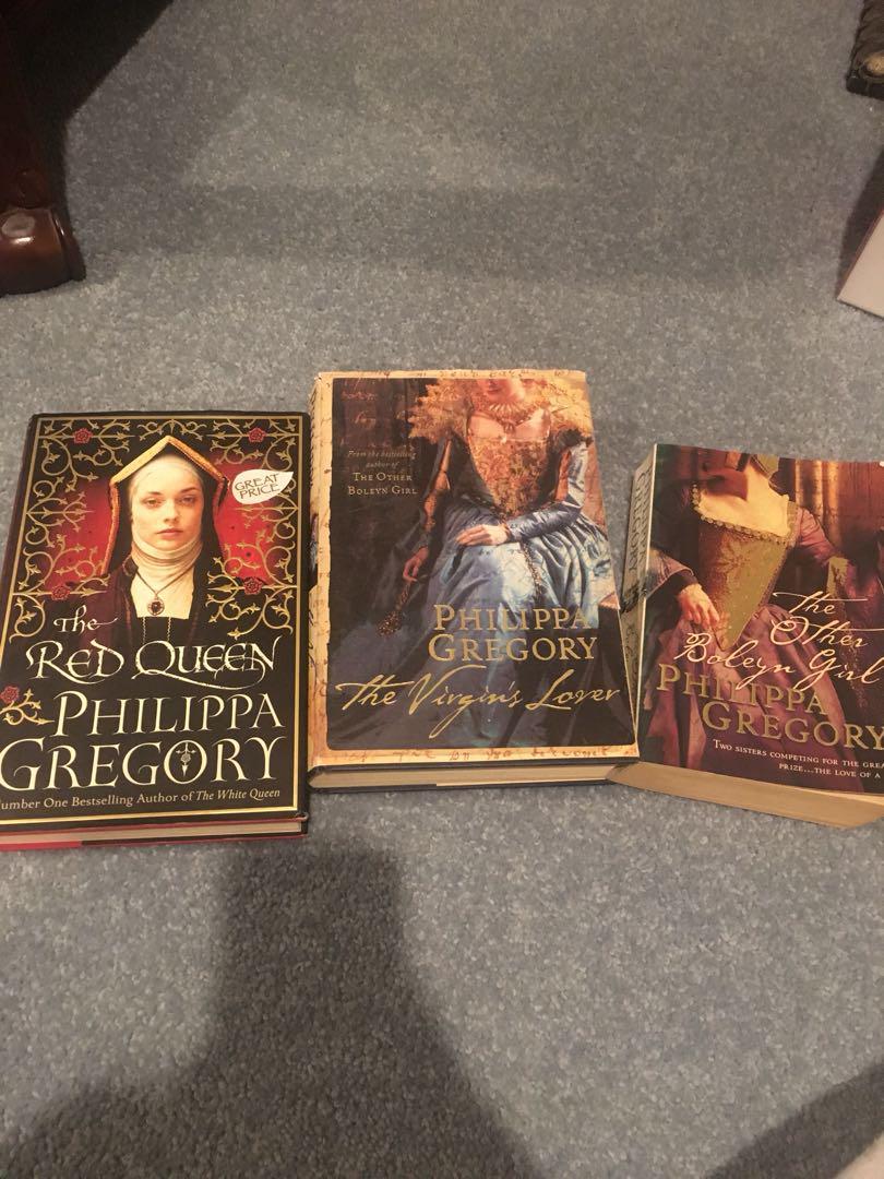 Philippa Gregory set of 3!