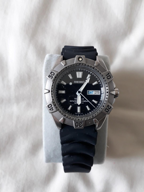 Seiko Titanium Diver 200m