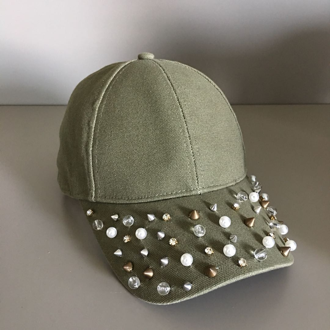 Studded Baseball Cap 75f475a006f