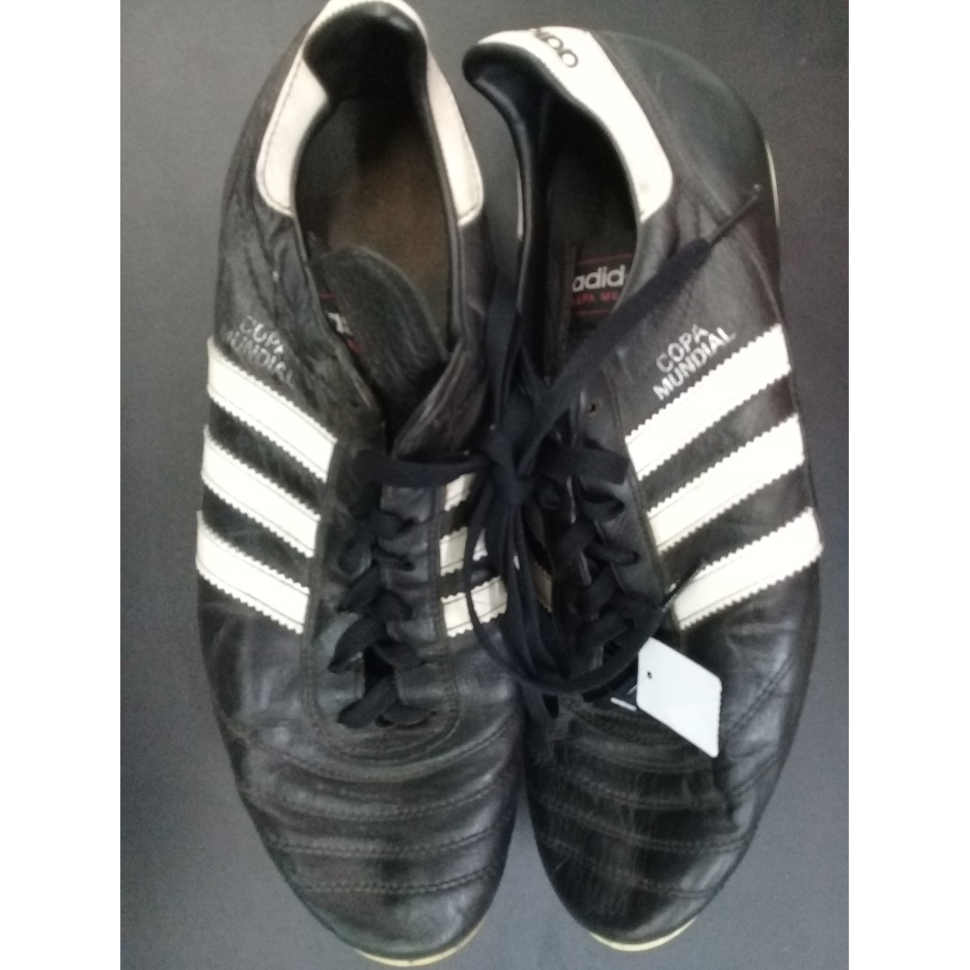 bea438fe600 vintage adidas copa mundial leather boot uk10.5