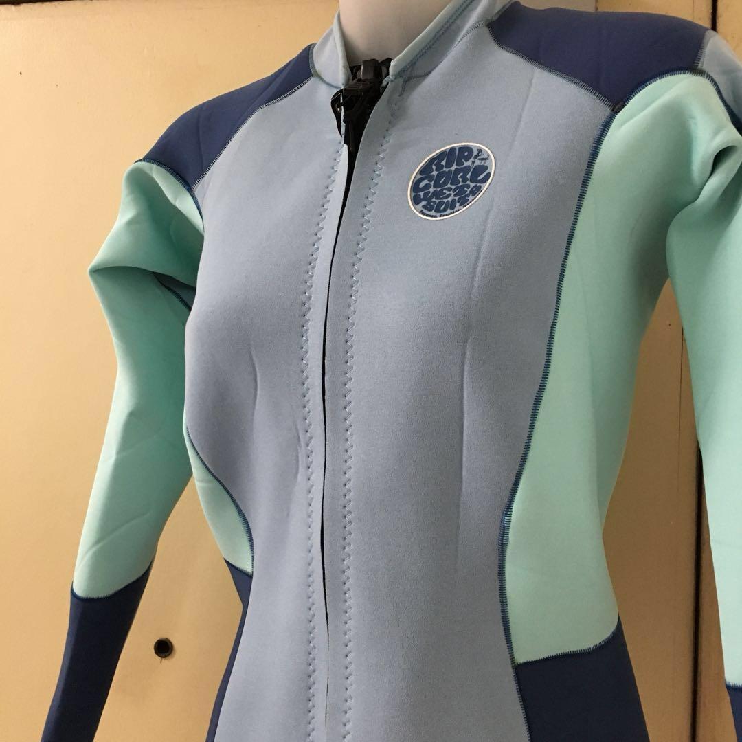 Women s Rip Curl DAWN PATROL Front Zip Wetsuit Jacket 3a027d26e9