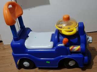 PreLoved CHICCO Play N Ride Train for children