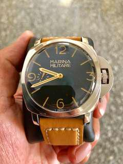 RXW MM30 watch with extra crown guard
