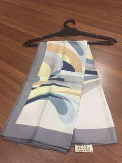 Silk square scarf