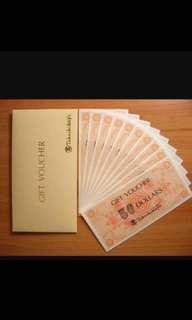 Trading taka vouchers for capital land. 1 for 1