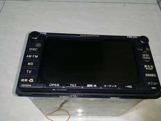 DVD player Toyota Alphard