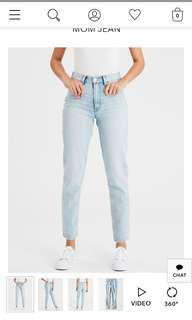 HIGH WAISTED MOM JEANS - BRAND NEW - AMERICAN EAGLE