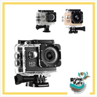 1080p HD 2.0 inch Screen Action Sports Camera with Waterproof Case