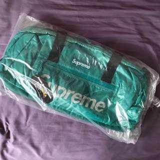 Supreme FW17 Duffle Bag - Teal
