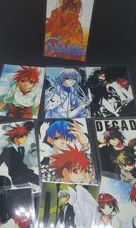 D.N. Angel Laminated Cards Back to Back