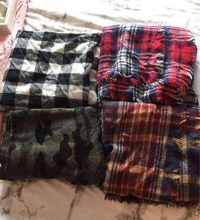 blanket scarves!!