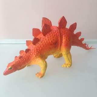 Dinosaurus - PVC Krasovsky Stegosaurus Panjang 26 cm merk Imperial