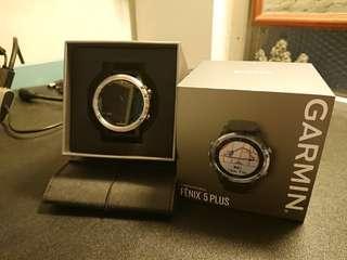 Garmin Fenix 5 Plus (Silver) 中文版 Smartwatch