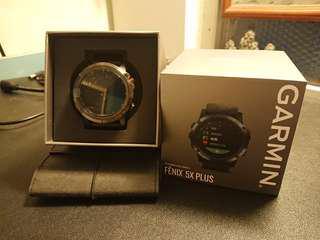 Garmin Fenix 5X Plus (Black) 中文版 Smartwatch