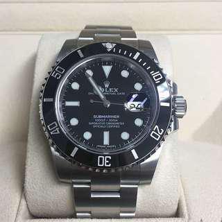 WTB Rolex Sub Date Submariner 116610ln