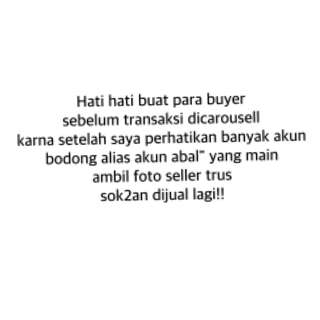 Just info!!