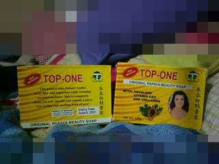 TOP ONE BEAUTY SOAP