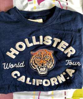 Authentic Hollister Blue T-Shirt