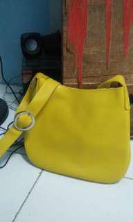 Miniso Yellow SlingBag
