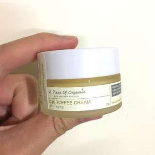 🌟Apoo Q10 Toffee Cream 20g A piece of organic