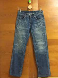 Levi's 502 刷色牛仔褲/W30