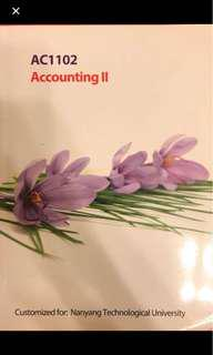 AC1102 Accounting 2 textbook