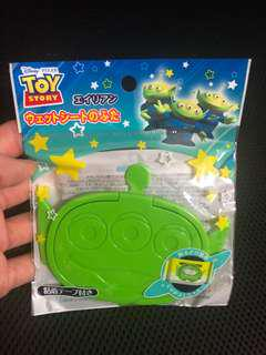 Little green man alien toy story wet wipes cover