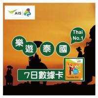 📮包郵 泰國 AIS 7days/7日 上網卡 數據卡 電話卡 4G