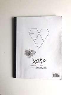 EXO XOXO Album, Korean VER