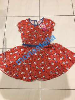 NEW Sanrio - dress anak perempuan