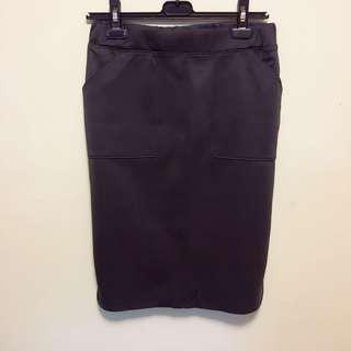 initial Ladies pencil skirt