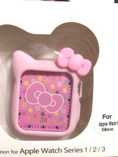 Iwatch hello kitty silicone case for 38mm