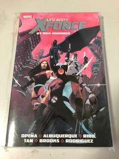 Uncanny X-force massive marvel comics tpb Deadpool x-men