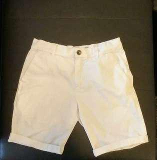 GUESS white shorts