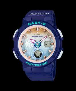Brand New Original Limited Edition CASIO BABY-G ICERC Love The Sea And The Earth BGA-250AP-2ADR