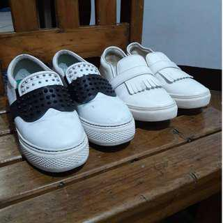 Blogger White Shoes