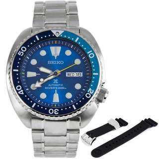 Brand New Original SEIKO PROSPEX SRPB11K1 Blue Lagoon Turtle