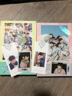 SEVENTEEN DK AND THE8 SIGNED LOVE LETTER ALBUM