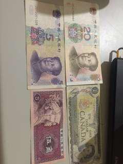 🚚 舊國外紙鈔