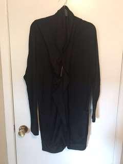 Designer knit cardigan jacket