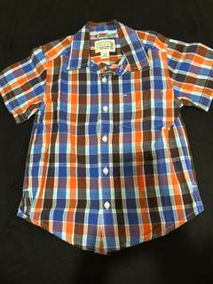 The Childrens Place Checkered Polo