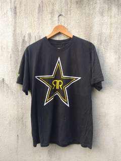 Rockstar x harley davidson tshirt