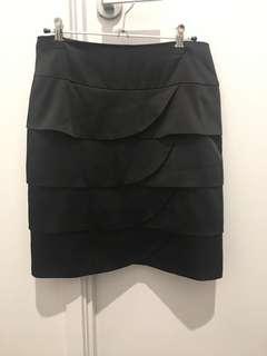 Review Black Satin Skirt - Size 10